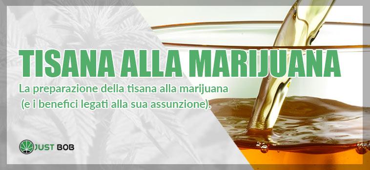 tisana alla marijuana