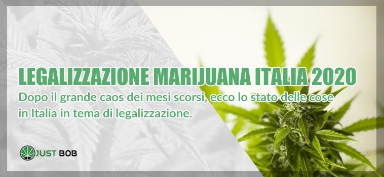 legalizzazione canapa light italia 2020