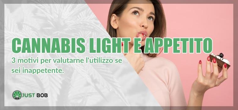 Cannabis light e appetito