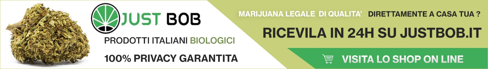 Cannabis Light Italia JustBob