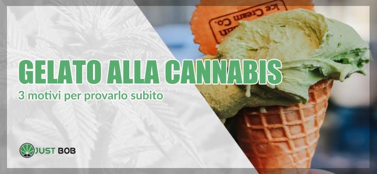gelato alla cannabis