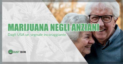 benefici marijuana negli anziani